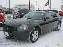 2005 dodge magnum sxt in brilliant black crystal pearl 151625