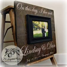 personalized wedding photo frame personalized wedding gift anniversary gift custom picture