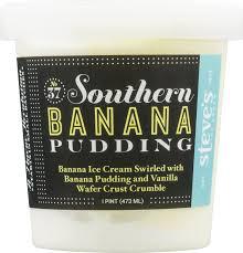 steve u0027s ice cream 37 southern banana pudding 16 oz walmart com