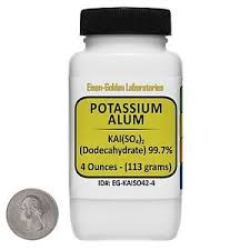 alum photo potassium alum lab chemicals ebay