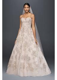 line wedding dresses blush a line wedding dress david s bridal