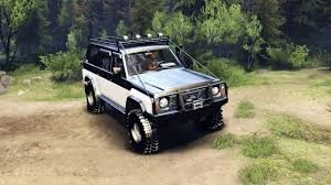 nissan safari off road nissan patrol y60 for spin tires