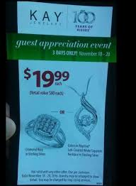 3 days only jewelers only 19 99 for a ring or