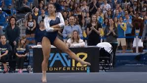 Hit The Floor Playlist - watch a ucla gymnast whip nae nae and hit the quan during her