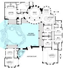 house plan with courtyard the devoted classicist kissingers at river house floor plans