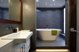 simple grey modern bathroom ideas double sink inside