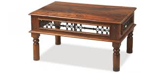 Jali Coffee Table Jali Sheesham 110 Cm Coffee Table Quercus Living