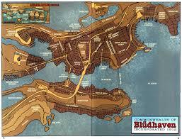 Map Of Gotham City Blüdhaven Superhero Wiki Fandom Powered By Wikia