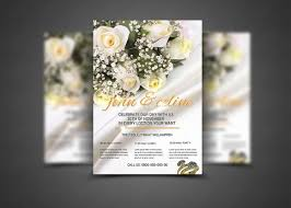 wedding flyer photography marketing photo card template promo