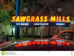Sawgrass Mall Map Sunrise Fl January 2016 Sawgrass Mills Outlet Entrance At Ng