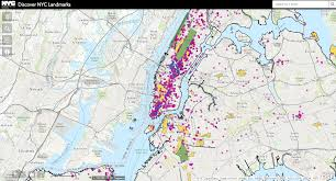 New York Area Code Map by Maps Lpc