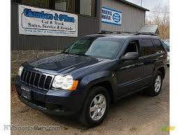 jeep dark blue 2009 jeep grand cherokee laredo 4x4 in modern blue pearl 516398