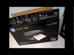 resetter printer hp deskjet 1000 j110 series hp deskjet 1000 j110 youtube