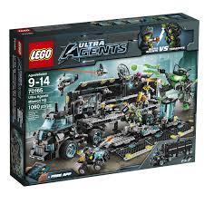 Lego Headquarters Lego Ultra Agents 70165 Mission Headquarters