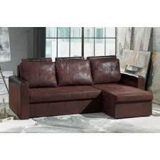 canapé d angle en cuir marron canapé d angle gigogne au meilleur prix canapé d angle convertible