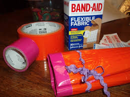 duct tape mini first aid kit roll craft tutorial diy rural mom