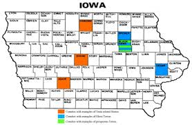 map of iowa towns all aboard how trains shaped small town iowa