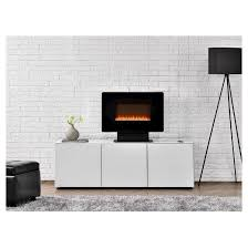 Wall Mounted Electric Fireplace Kenna Small Wall Mounted Electric Fireplace Black Altra Target