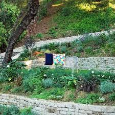 Steep Sloped Backyard Ideas Sloped Backyard Landscaping Ideas Residential Steep Slope