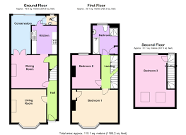 Terraced House Floor Plan by Bed Terraced House For Sale In Richmond Road London E11 Floor Plan