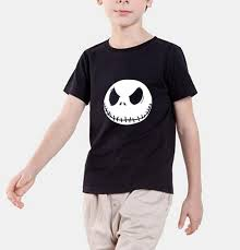 new fashion 2017 summer t shirt nightmare before