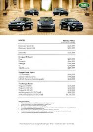 land rover singapore singapore motorshow 2016 land rover price list deals promotions