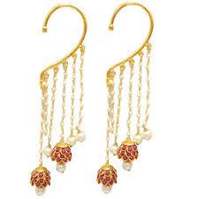 gold kaan earrings ear cuff cuff earrings earring cuffs kaan ke cuff
