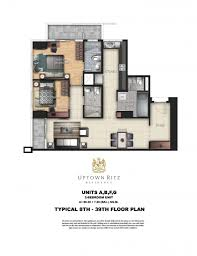 Viceroy Floor Plans by Uptown Ritz Residences Floor Plans