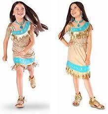 Pocahontas Costume Amazon Com Disney Store Pocahontas Indian Princess Costume Size