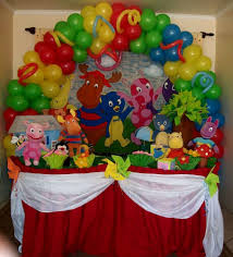 backyardigans birthday party food ideas decorating of party