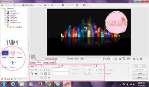 membuat logo kelas dengan photoshop membuat logo photoscape ice sugarplum