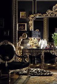 Luxury Home Design Decor Bedroom Vanity Table Black Gold Bedroom Decor Inspiring