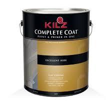 kilz complete coat flat ceiling primers specialty paints