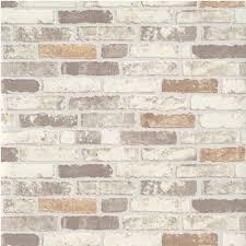 erismann brix brick wall effect embossed textured wallpaper 6703