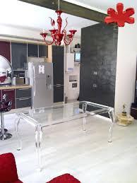 plexiglass table top protector intérieur de la maison table en plexiglas mid century italian
