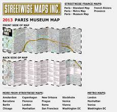 L Chicago Map by Artwise Paris Museum Map Laminated Museum Map Of Paris Fr