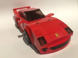 lego speed champions lamborghini lego ideas ferrari f40 lego speed champions