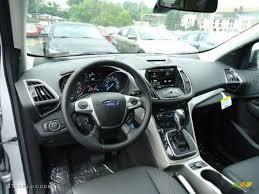 Ford Escape Ecoboost - 2013 ford escape sel 1 6l ecoboost 4wd charcoal black dashboard