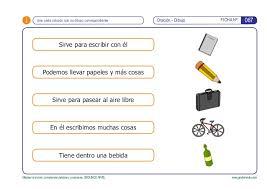 imagenes para colorear y escribir oraciones mejorar la lectura comprender palabras y oraciones 2