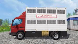 mitsubishi fuso box truck fuso for farming simulator 2015