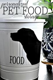 Decorative Dog Food Storage Container - a recipe for the best puppy food a homemade raw diet puppy food