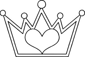 crown coloring page coloring pages crown page printable free to
