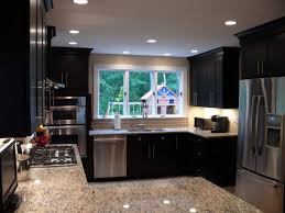 Diy Kitchen Cabinet Kits Kitchen Cabinets Diy Kits Open Design Solid Brown Countertop
