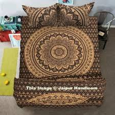 brighten up your bedroom with gorgeous mandala duvet covers by jaipur
