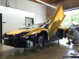 gold chrome lamborghini aventador aventador wrap gold chrome aventador
