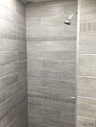 tiled shower ideas for bathrooms tile is grey but like this tile with the simple accent