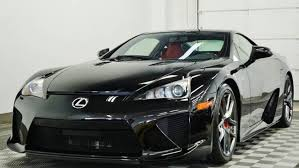 lexus sport car lfa this 356 mile old lexus lfa can be yours for 439 900 drivetribe