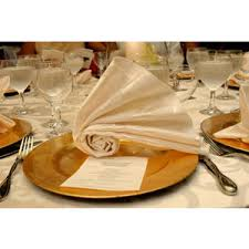 how to fold napkins for a wedding wedding napkin fold caribbean caterers project wedding