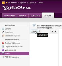 yahoo email junk mail prevent yahoo from moving spam to junk mail folder spamdrain