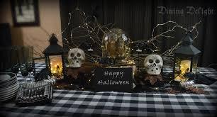 dining delight spooky halloween buffet display